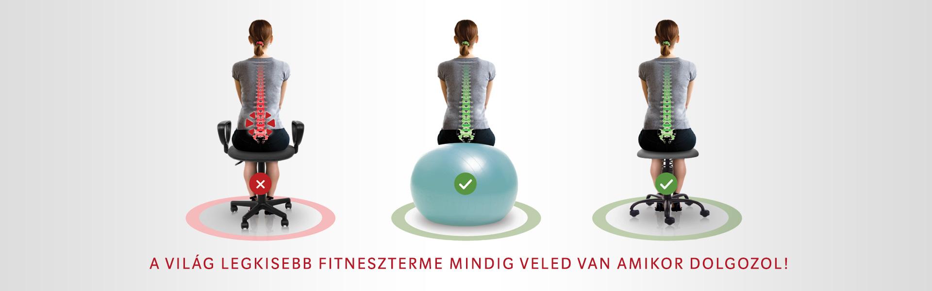 SpinaliS aktív, ergonómikus székek az egészséges gerincért |